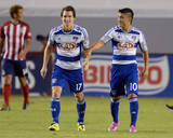 Aug 3, 2014 - MLS: FC Dallas vs Chivas USA - Mauro Diaz, Zach Loyd Photo by Jayne Kamin-Oncea