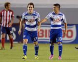 Aug 3, 2014 - MLS: FC Dallas vs Chivas USA - Mauro Diaz, Zach Loyd Photo by Jayne Kamin-Oncea