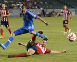 Jul 5, 2014 - MLS: Montreal Impact vs Chivas USA - Andres Romero, Bobby Burling Photo by Jayne Kamin-Oncea