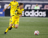 2014 MLS Playoffs: Nov 9, Columbus Crew vs New England Revolution - Wil Trapp Photo af Stew Milne