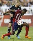 Jul 20, 2014 - MLS: Chivas USA vs D.C. United - Oswaldo Minda, Perry Kitchen Photo by Geoff Burke