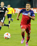 Oct 18, 2014 - MLS: Chicago Fire vs D.C. United - Quincy Amarikwa Photo by Brad Mills