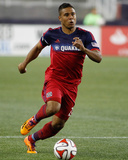 Sep 7, 2014 - MLS: Chicago Fire vs New England Revolution - Quincy Amarikwa Photo by Stew Milne