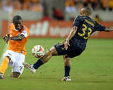 Aug 15, 2014 - MLS: Philadelphia Union vs Houston Dynamo - Kofi Sarkodie Photo by John David Mercer