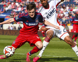 Apr 19, 2014 - MLS: New England Revolution vs Chicago Fire - Greg Cochrane Photo by Mike Dinovo