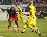 2014 MLS U.S. Open Cup: Jun 25, Columbus Crew vs Chicago Fire - Juan Luis Anangono Photo by Mike Dinovo