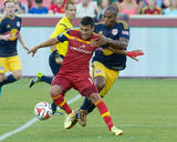 Jul 30, 2014 - MLS: New York Red Bulls vs Real Salt Lake - Javier Morales, Jamison Olave Photo by Russell Isabella
