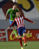 Apr 19, 2014 - MLS: Seattle Sounders vs Chivas USA - Erick Torres, Chad Marshall Photo by Jayne Kamin-Oncea