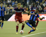 Apr 12, 2014 - MLS: Chicago Fire vs Montreal Impact - Jeff Larentowicz Photo by Eric Bolte