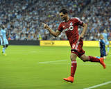 Aug 16, 2014 - MLS: Toronto FC vs Sporting KC - Gilberto Photo by Denny Medley