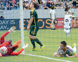 Aug 2, 2014 - MLS: Portland Timbers vs LA Galaxy - Will Johnson, Donovan Ricketts, Robbie Keane Photo by Jayne Kamin-Oncea