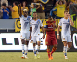 Jul 12, 2014 - MLS: Real Salt Lake vs Los Angeles Galaxy - Juninho, Gyasi Zardes Photo by Kirby Lee