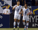 2014 MLS Champions League: Mar 12, Club Tijuana vs Los Angeles Galaxy - Juninho, Samuel Photo by Kirby Lee