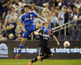 Apr 19, 2014 - MLS: Montreal Impact vs Sporting KC - Eric Miller Photo by Gary Rohman