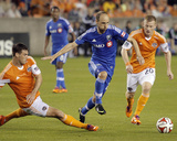 Mar 15, 2014 - MLS: Montreal Impact vs Houston Dynamo - Justin Mapp, David Horst Photo by Andrew Richardson