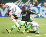 Apr 5, 2014 - MLS: Seattle Sounders vs Portland Timbers - Stefan Frei Photo by Jaime Valdez