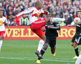 2014 MLS Playoffs: Nov 8, New York Red Bulls vs D.C. United - Eddie Johnson, Jamison Olave Photo by Geoff Burke