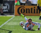 Apr 12, 2014 - MLS: Real Salt Lake vs Philadelphia Union - Luke Mulholland, Zac MacMath Photo by John Geliebter