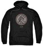 Hoodie: Hellboy II - Mignola Style Logo Pullover Hoodie