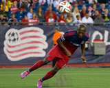 Sep 7, 2014 - MLS: Chicago Fire vs New England Revolution - Sanna Nyassi Photo by Winslow Townson