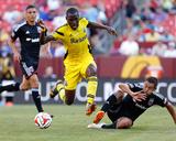 Jun 7, 2014 - MLS: Columbus Crew vs D.C. United - Tony Tchani Photo by Geoff Burke