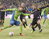 2014 MLS Western Conference Championship: Nov 30, Galaxy vs Sounders - Clint Dempsey, Robbie Rogers Photo by Joe Nicholson