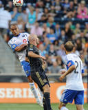 Aug 9, 2014 - MLS: Montreal Impact vs Philadelphia Union - Conor Casey, Matteo Ferrari Photo by John Geliebter