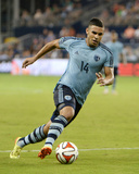 2014 MLS U.S. Open Cup: Jun 18, Minnesota United vs Sporting KC - Dom Dwyer Foto af John Rieger