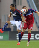 Jul 12, 2014 - MLS: Chicago Fire vs New England Revolution - Daigo Kobayashi, Harrison Shipp Photo by Bob DeChiara