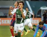 Apr 12, 2014 - MLS: Chivas USA vs Portland Timbers - Maximiliano Urruti Photo by Steve Dykes