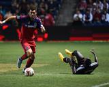 Sep 20, 2014 - MLS: D.C. United vs Chicago Fire - Samuel Inkoom, Gonzalo Segares Photo by Mike Dinovo