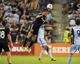 Aug 23, 2014 - MLS: D.C. United vs Sporting KC - Fabian Espindola Photo by Jeff Curry