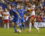 Aug 23, 2014 - MLS: Montreal Impact vs New York Red Bulls - Calum Mallace, Thierry Henry Photo by Jim O'Connor
