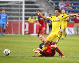 2014 MLS U.S. Open Cup: Jun 25, Columbus Crew vs Chicago Fire - Bernardo Anor Photo by Mike Dinovo