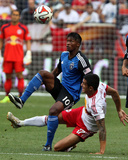 Jul 19, 2014 - MLS: San Jose Earthquakes vs New York Red Bulls - Yannick Djalo Photo by Noah K. Murray