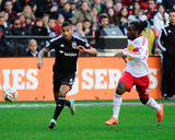 2014 MLS Playoffs: Nov 8, New York Red Bulls vs D.C. United - Peguy Luyindula, Sean Franklin Photo by Brad Mills