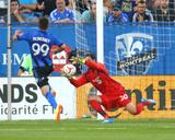 Jul 12, 2014 - MLS: Sporting KC vs Montreal Impact - Andy Gruenebaum, Jack McInerney Photo by Jean-Yves Ahern