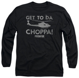 Long Sleeve: Predator - Choppa T-shirts