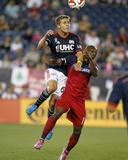 Sep 7, 2014 - MLS: Chicago Fire vs New England Revolution - Scott Caldwell Foto af Stew Milne