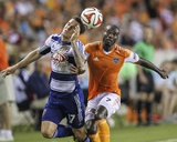 2014 MLS U.S. Open Cup: Jun 24, FC Dallas vs Houston Dynamo - Omar Cummings, Zach Loyd Photo by Troy Taormina