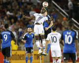 Jun 28, 2014 - MLS: Los Angeles Galaxy vs San Jose Earthquakes - Gyasi Zardes Photo by Robert Stanton
