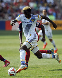 Jun 1, 2014 - MLS: Los Angeles Galaxy vs Chicago Fire - Gyasi Zardes Photo by Matt Marton