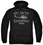 Hoodie: Predator - Choppa Pullover Hoodie