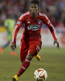 2014 MLS Playoffs: Nov 2, Seattle Sounders vs FC Dallas - Fabian Castillo Photo by Tim Heitman