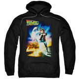 Hoodie: Back To The Future - Poster Pullover Hoodie