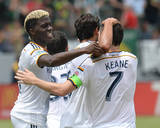 Aug 2, 2014 - MLS: Portland Timbers vs Los Angeles Galaxy - Baggio Husidic, Gyasi Zardes Photo by Jayne Kamin-Oncea