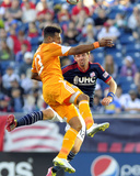 Apr 12, 2014 - MLS: Houston Dynamo vs New England Revolution - Giles Barnes Photo by Bob DeChiara