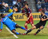 Sep 20, 2014 - MLS: D.C. United vs Chicago Fire - Sean Johnson, Perry Kitchen Photo by Mike Dinovo