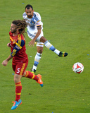 2014 MLS Playoffs: Nov 9, Real Salt Lake vs Los Angeles Galaxy - Juninho Photo by Jake Roth