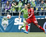 Mar 15, 2014 - MLS: Toronto FC vs Seattle Sounders - Jermain Defoe Photo by Joe Nicholson